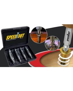 Set 4 extractoare Speed Out pentru suruburi