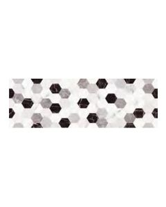 FAIANTA ROYAL GOLD HEXAGON GRIS 25X75