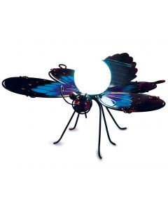 Lampa solara Blue Butterfly Borders