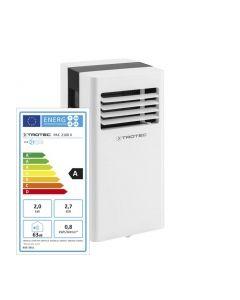 Aer conditionat portabil Trotec PAC 2100 X Capacitate 7.000 Btu Debit 319mc/ora Telecomanda Display Timer Pentru 65mc