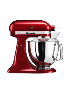Mixer cu bol Artisan Elegance 5KSM175PSECA, 4,8 L, Candy Apple, 300W, KitchenAid