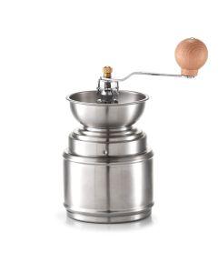 Rasnita manuala pentru cafea din inox, Silver Ø 9,5xH16/22 cm