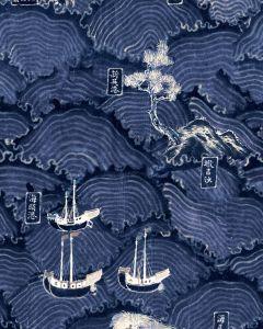 Set 3 role Tapet Imprimat Digital Waves of Tsushima
